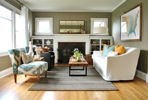Living room ideas / by Tiffany Mattison