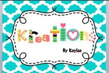 My Etsy Store! / Kreations by Kayla :)