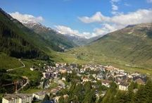 Switzerland / Some amazing scenery can be found in this country of chocolate, the Swiss Alps and world class cheese!