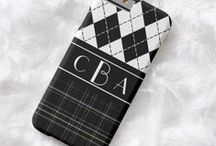 Personalized iPhone 6 Cases / iPhone 6 Cases with your name or monogram. Most of these cases can be changed to other models so if you have an iPhone 7 or other even a Samsung model just look for the Device Type drop down menu.