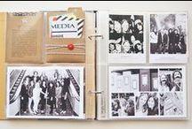 craft: documenting memories / albums using photographs and memorabilia  / by J E N N I F E R