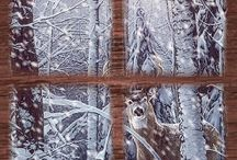 Bambi nella neve