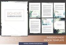 EBOOK INSPO / Ebook and optin design inspiration