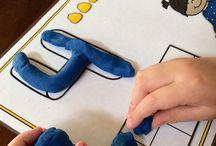 Учим цифры и буквы