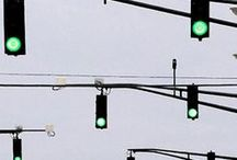 Traffic Lights / Don't you always get that weird feeling like they are staring at you?