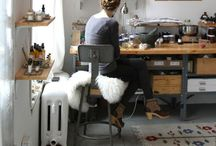 Work Space / Cool, inspiring and appealing creative work spaces.
