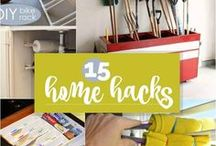 Life Hacks and Tips / Get organized, save money with these great life hacks and tips.