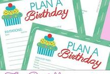 Kid's Party Ideas / Fun ideas for entertaining and decorating for kid's parties!