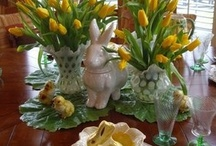 Table Decor Ideas / by Linda Rider