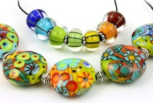 My Favorite Lampwork and Glass Beads / A Collection of Fine Glass and Lampwork Beads for Handmade Jewelry Design.