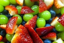 EAT FRUIT & VEGGIES / Do you get your 5-10 servings today? / by Kathy McConnell