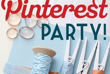 Parties - Pinterest Party - now with real pins! / on November 12th, there is a pinterest party at my house. here is how it turned out. / by Virginia Champoux