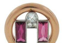 Art Deco Jewellery / My favourite art deco jewellery pieces