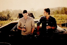 """The Winchesters / """"Can I shoot her?"""" -Dean """"Not in public."""" -Sam / by Casie Matter"""