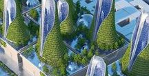 G R E E N architecture / Sustainable  Green Archicture Real Estate Development