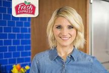 Guest Pinner: Chef Britney Ruby Miller / Meet Chef Britney Ruby Miller our Guest Pinner for Fresh Express. Chef Britney is the culinary genius behind many of our Fresh Express salad recipes. She is also a working mom of three that has a passion for preparing fresh, clean and healthy meals for her family. We look forward to sharing some of her ideas and insight with you. / by Fresh Express
