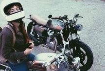 Ride or Die Chic / Two wheels and high heels / by Victoria