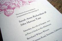 Printable Wedding Invitations / e.m.papers download and print, editable PDF wedding invitation templates.