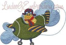 Machine Embroidery / Machine embroidery designs from Lindee G Embroidery / by Lindee Miller Goodall