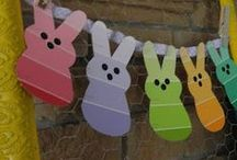 Peeps! / In honor of Dad's favorite Easter goodie (besides chocolate bunny ears)  / by Denise Cox