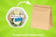 Packing Light for Lunch / Don't let yourself fall into the boring lunch slump. Make your lunchtime something to look forward to by swapping your sandwich with one of these unique & packable ideas.