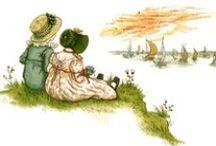 Art_Kate Greenaway / Kate Greenaway illustrations / by Monica Wallek