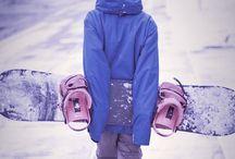 Snowboarding / by Desirae' Hruska
