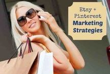 Pinterest for Etsy Sellers / Pinterest for Etsy Sellers. Etsy and Pinterest seem like they're joined at the hip. In fact, many marketers on Pinterest are promoting their Etsy products.