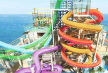 awesome water slides / Water slides