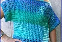 Crochet Apparel / On this board you will find crochet patterns for apparel: tops, sweaters, dresses, shrugs, etc.