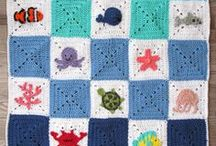Crochet Afghans/Blankets / Crocheted Blankets, Afghans, Granny Squares, and Graphs for Afghans/Blankets for the home, babies/baby showers, and kids