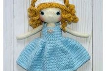 Amigurumi / This board includes all types of amigurumi crochet patterns. Dolls, toys, decor - fun to make for kids and to give away as gifts!