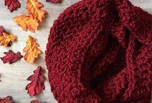 Crochet Scarves / Crochet scarves, wraps, shawls, cowls