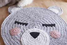 Crochet Rugs / Crochet rug patterns for the home