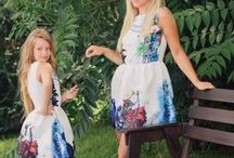 Seturi Rochii Asortate Mama si Fiica