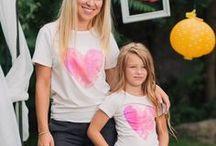 Tricouri Asortate Mama Fiica
