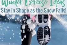 Winter Fitness - Skiing / I love to ski, and this board is everything skiing! Skiing tips, skiing gear, places to ski and more!
