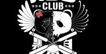 Panda CLUB / My own Panda CLUB t-shirt designs.