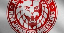 New Japan Pro-Wrestling (NJPW) / Drawings of wrestlers from the New Japan Pro-Wrestling promotion.