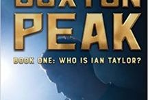 Book One of Buxton Peak: Who Is Ian Taylor? - Storyboard / If the characters in my novel, Buxton Peak Book One: Who Is Ian Taylor? were real, this is what they would look like! If the places they travel exist, this is where they'd go. If my stories had a soundtrack, this is what we would hear. -Julie