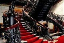 Treppen, innen, alt