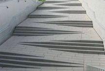 Treppen, außen, neu
