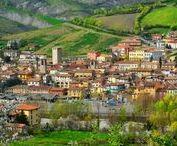 Varzi e l'Oltrepò Pavese / La poesia delle colline oltrepadane e il fascino dei piccoli paesi, i panorami della Valle Staffora e gli scorci del borgo medievale di Varzi