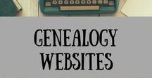 Genealogy Websites / Genealogy, Genealogy Websites, Websites, Ancestry, FamilySearch, How to, Family History, History, Family