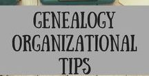 Genealogy Organizational Tips / How to organize, family history, genealogy organization, tips and tricks, genealogy, history