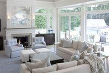 Living Room / Living room, decor, furniture, living room inspiration, beautiful living rooms