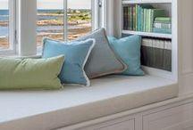 Window Seats / Window seats, built-ins, inglenooks, bench seating, reading nooks