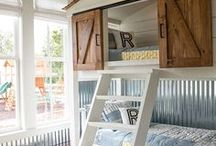 Nursery & Kids' Rooms / Inspiration for nursery or children's rooms. Design and decor for children's and baby's rooms.