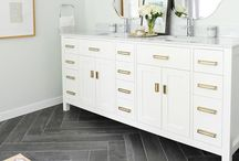 inspiration: master bathroom / by Brooke Waite @ Design Stash