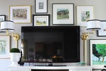 inspiration: family room / by Brooke Waite @ Design Stash